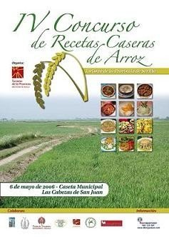 Concurso de Recetas Caseras de Arroz en Sevilla
