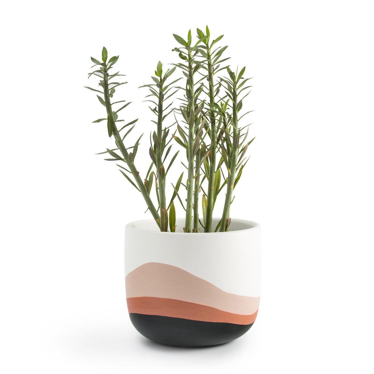 Cubremacetas de cerámica