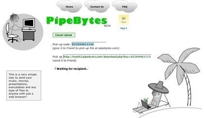 PipeBytes, compartiendo cualquier tipo de archivo sin restricciones con otro usuario