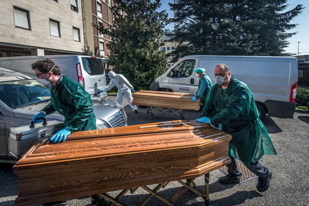 Italia ya sabe cuánta gente murió en marzo realmente: un 49% por encima de la media histórica