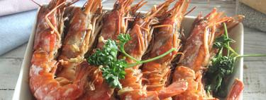 Gambones al horno: receta económica para disfrutar del marisco