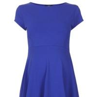 Vestido Premama Azul Klein