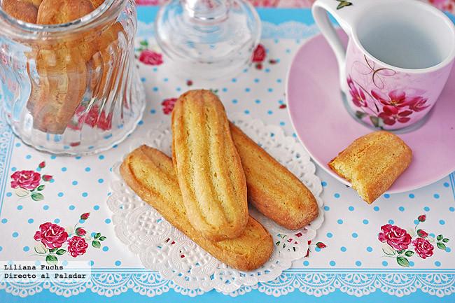 Receta de pastas de maíz con aroma de limón