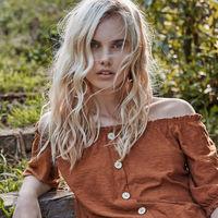 El lino es el protagonista del nuevo lookbook de Stradivarius