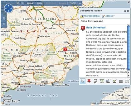 Microsoft Live Maps: novedades