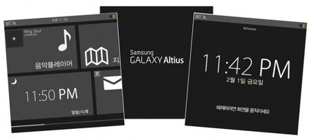 Samsung Galaxy Altius, el reloj inteligente para competir contra Apple.
