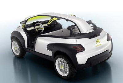 Citroën Lacoste Concept, novedad en París