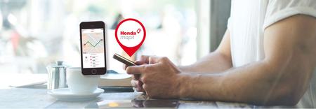 Motos localizadas en todo momento y alertas de golpes: Orange y Honda llegan a un acuerdo para hacer realidad la moto conectada