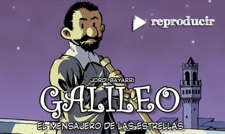 Galileo, el mensajero de las estrellas, es un cómic en busca de financiación en Lánzanos