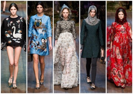 dolce and gabbana tendencias oi 2014 2015