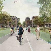 Países Bajos inaugurará en 2024 el barrio del futuro, con un coche compartido para cada tres hogares