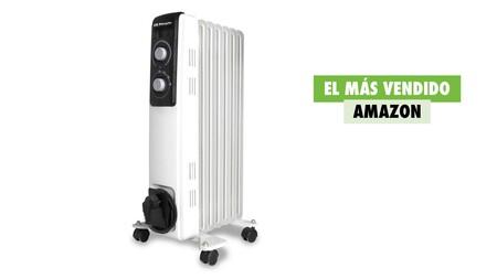 El radiador más vendido de Amazon es perfecto para la ola de frío que se avecina y hoy tiene un 20% de descuento