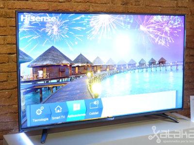 Así son las nuevas teles UHD de Hisense, el gigante chino que quiere medirse con Samsung y Cía
