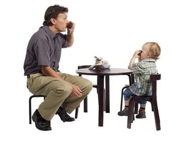 Mini muebles para niños como los de los mayores