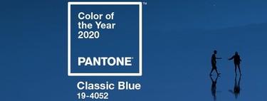 Pantone elige el Classic Blue como el color del 2020, el tono de la calma y la confianza