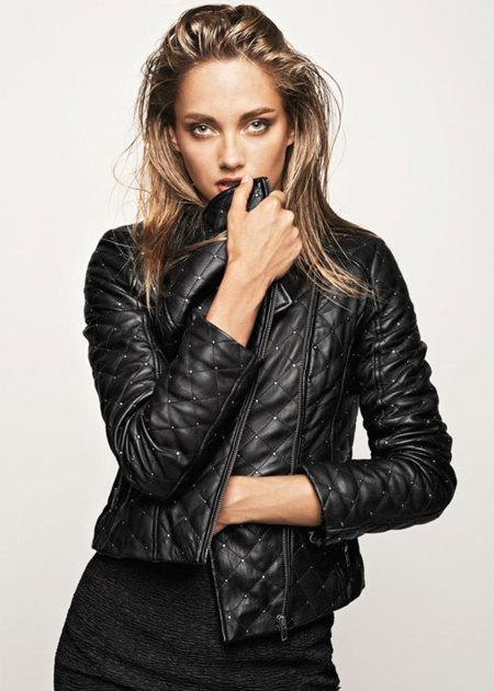 Claves de estilo para ir de shopping: ¡no sin una cazadora de cuero!