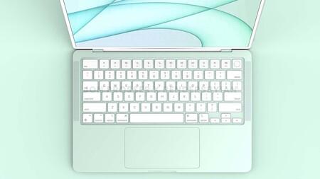 El esperado MacBook Air de colores estrenará el chip M2, según Dylandkt