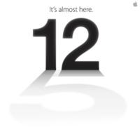 Presentación del iPhone 5 en directo