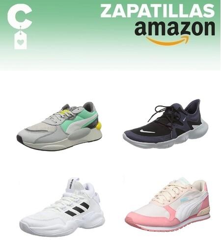 11 chollos en tallas sueltas de zapatillas Nike, Puma o Adidas en Amazon