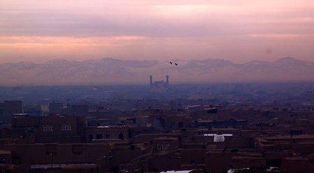 Sitio turístico restaurado en Herat, Afganistán
