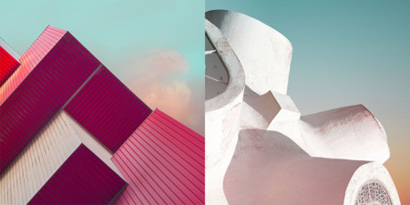 Oystein Aspelund mira con su cámara al cielo y a la arquitectura en su última serie fotográfica