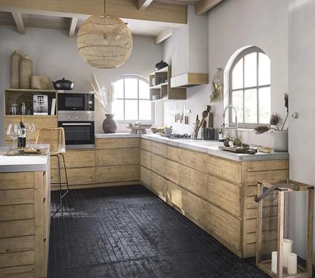 Mueble Bajo Esquinero Izquierdo De Cocina Con 1 Puerta 1000 10 36 198927 5