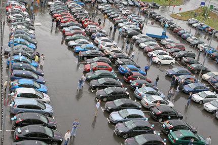Más de 200 Ford Focus de boda en Rusia