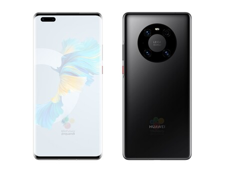 Huawei Mate 40 Pro Pantalla Diseno Renders Filtracion