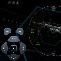 """El simulador de la Crew Dragon de SpaceX nos coloca ante la ISS para ver si somos capaces de atracarla con sus controles """"reales"""""""