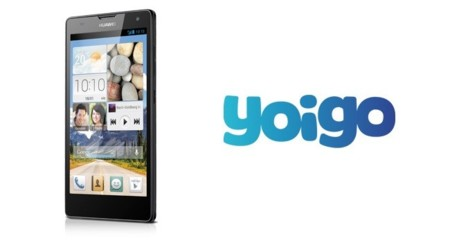 Precios Huawei Ascend G740 con Yoigo