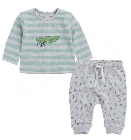 d78f21931 ... estampada de rayas y pantalones con cintura elástica estampados en  tonos verde menta y grises. De Canada House en El Corte Inglés, por 25,99  euros.