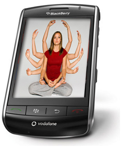 Por qué la BlackBerry Storm puede ser un duro rival para el iPhone y T-Mobile G1