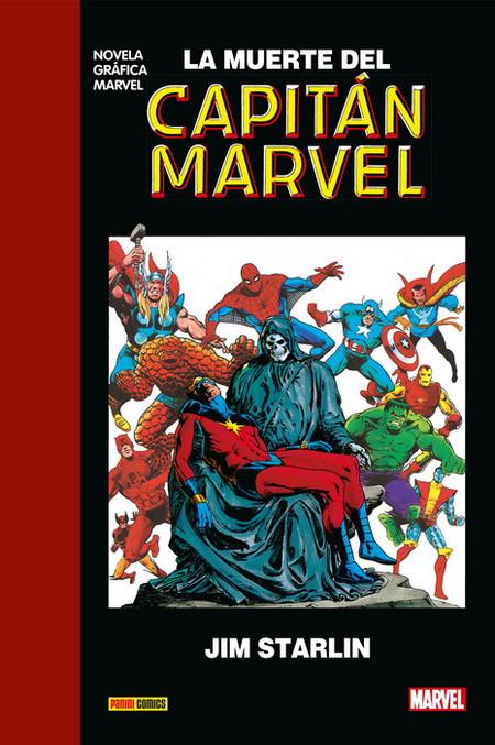 La Muerte Del Capitan Marvel Jim Starlin