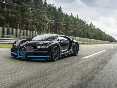 El Bugatti Chiron revienta el cronómetro: 0 - 400 - 0 km/h en 41.96 segundos