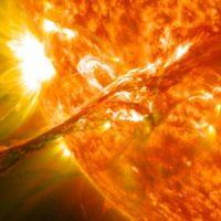 Nunca habías visto el sol así de espectacular