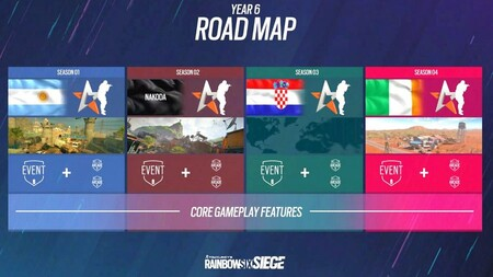 Rainbow Six Siege Year 6 Roadmap 900x506