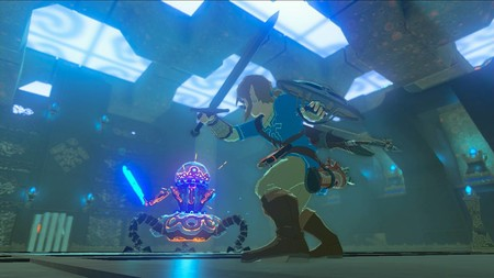 Zelda Breath Of The Wild Mazmorra 01