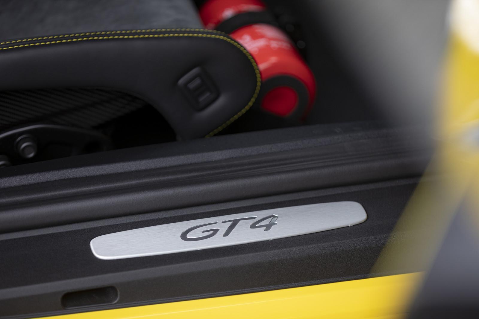 Foto de Porsche 718 Cayman GT4 (Presentación) (10/73)