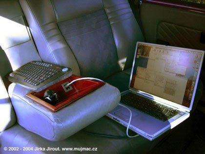Tatra 613 con PowerMac G4