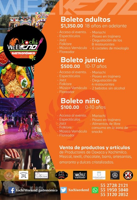 Xochi-weekend 2021: el plan para levantar industria restaurantera al sur de la Ciudad de México
