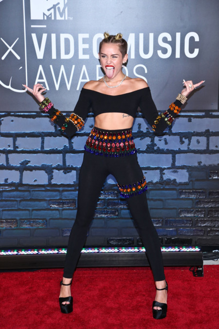 Peores looks de Miley Cyrus 2013 MTV Video Music Awards