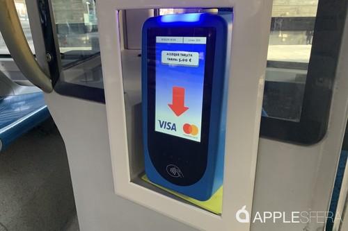 La EMT de Madrid activa el pago con Apple Pay y otros sistemas 'contactless' en toda su flota de autobuses