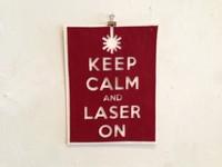 Las originales láminas decorativas de Laser Cutter Cafe