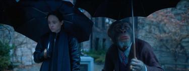 'The Umbrella Academy' diluye la locura del cómic para ofrecer otra serie de superhéroes más