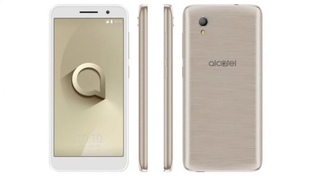 El Alcatel 1 con Android GO se deja ver y se postula como el más económico del fabricante
