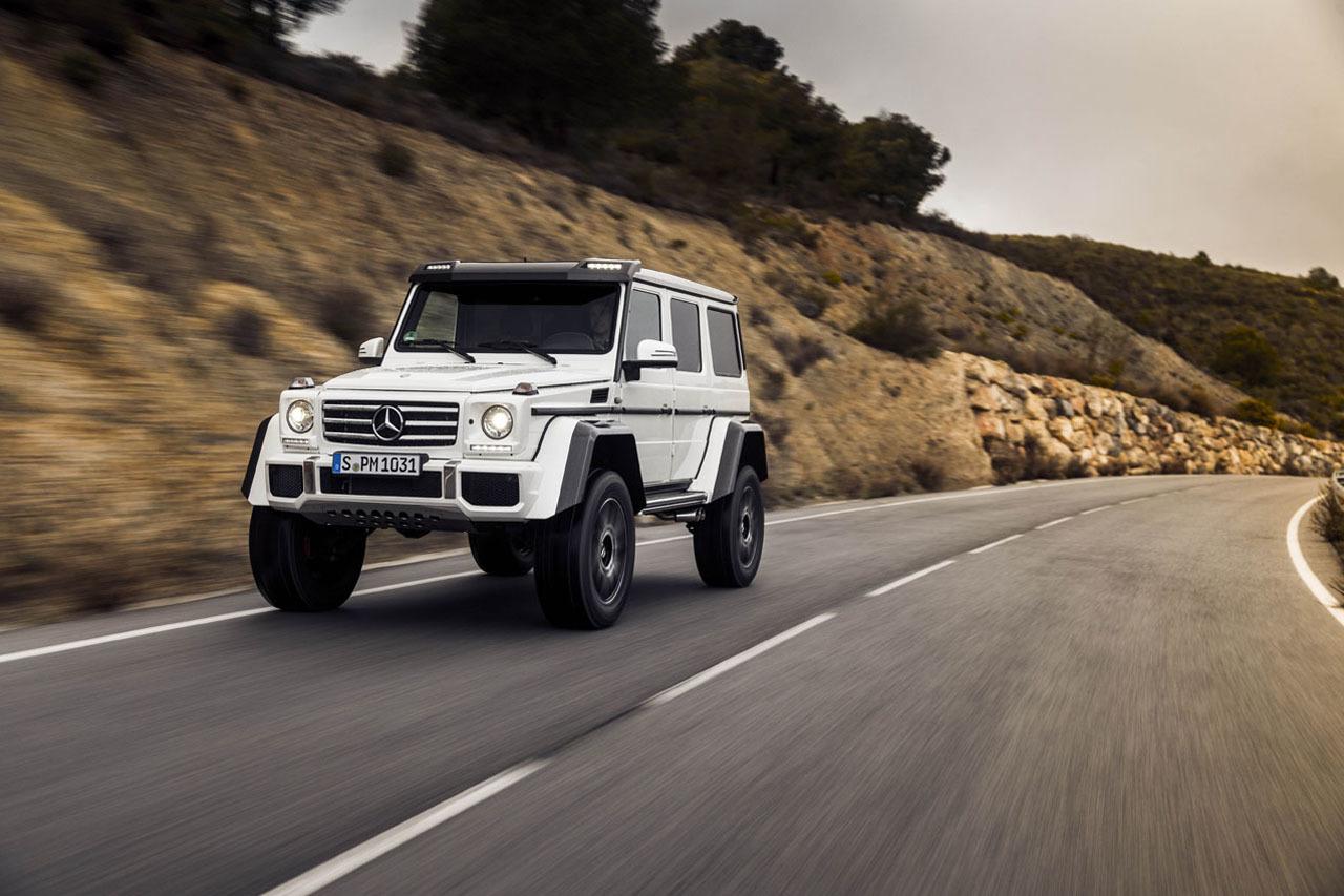 Foto de Mercedes-Benz G 500 4x4², toma de contacto (85/127)