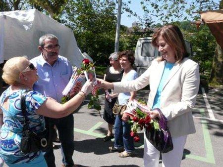 Carmen Romero firma la Declaración crítica con ACTA