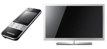 Samsung 9000 3D hace más útil el mando a distancia