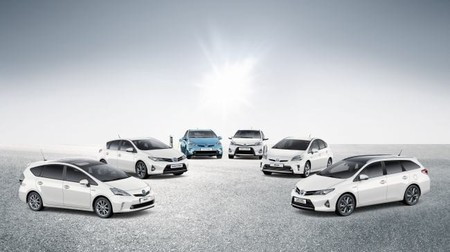 Gama hibrida Toyota