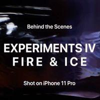 Apple experimenta con el hielo y fuego en su último vídeo grabado con un iPhone 11 Pro